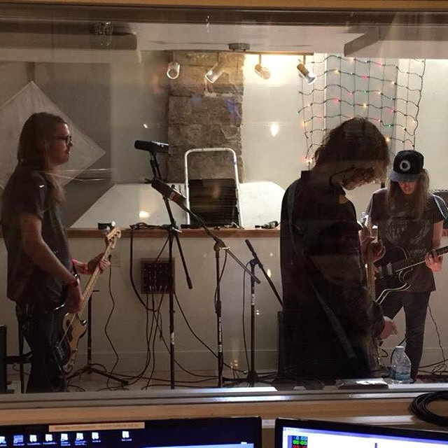 @desertnoises soundcheck for 4pm in-studio set! #desertnoises #treefort2015 #radioboise #krbxlive