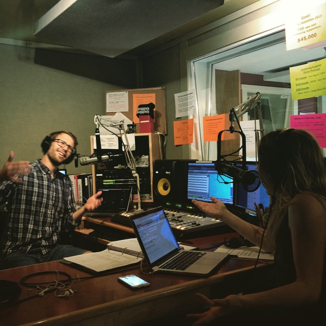 Matt and Megan are on the air! #Explorations is looking…