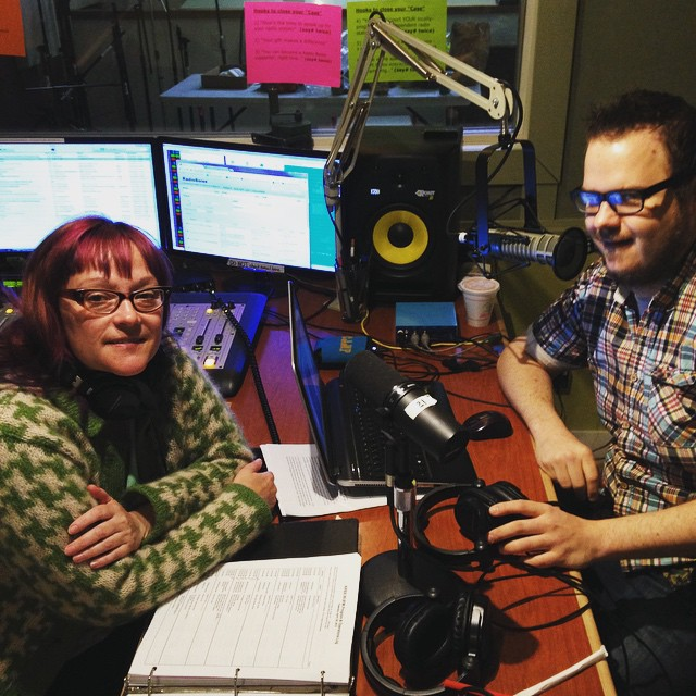 These two, have they been living here during #KRBXSpringRadiothon? Nichole…