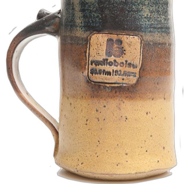 Genie Sue Weppner, the artist behind our @radioboise ceramic coffee…
