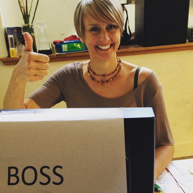Who's the boss? It ain't Tony Danza. Mothers Ruin's Stephanie…