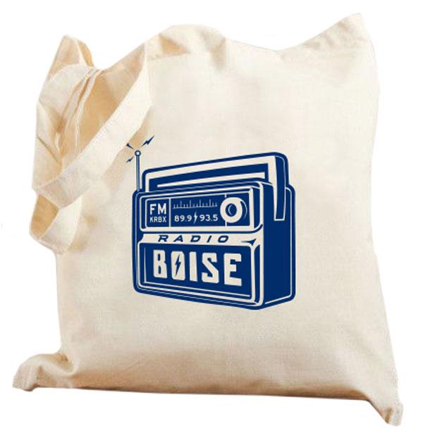 Radio Boise Tote Bag Spring Radiothon 2016