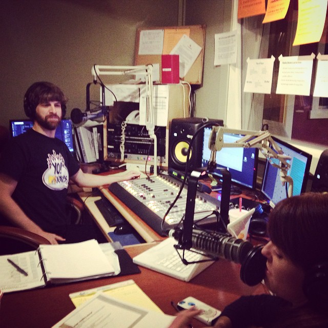 Help @chaddryden and @marisaweppner close their Radiothon show strong! Call…