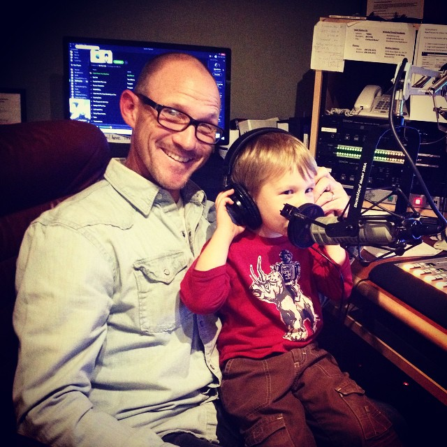 Chris Hess and his special guest Theo are excited for…