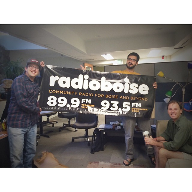 We have a shiny new banner all ready for the Hyde Park Street Fair next weekend! Come see us at our booth and get info about all the great things Radio Boise does for your community.