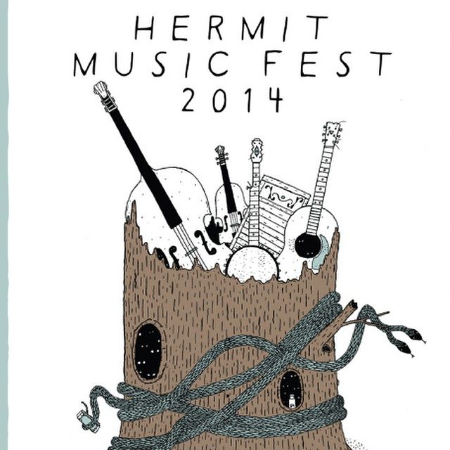 Tune in to the third hour of V3 today to win a 2 day ticket to #hermitmusicfest and hear Run On Sentence live on air! KRBX 89.9 / 93.5fm.