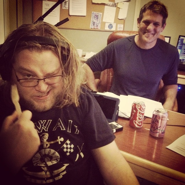 Bad Song Saturday with Wayne Birt and Gabe Dunn, yucking up the fundraising with horrible songs you can stop. Call us at 1(208)258-2072 or visit radioboise.us #FallRadiothonFun!
