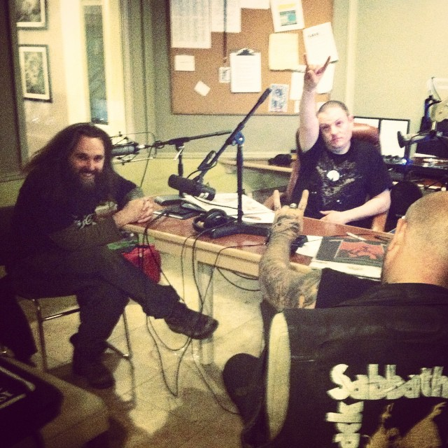 The metal rocked all night long! This was taken at 6am! Thanks @netsonian, #jakehite and @chadremains for a Fall Radiothon Friday overnight of rock! Continue your support of @radioboise by calling 1(208)250-2072 or visiting radioboise.us