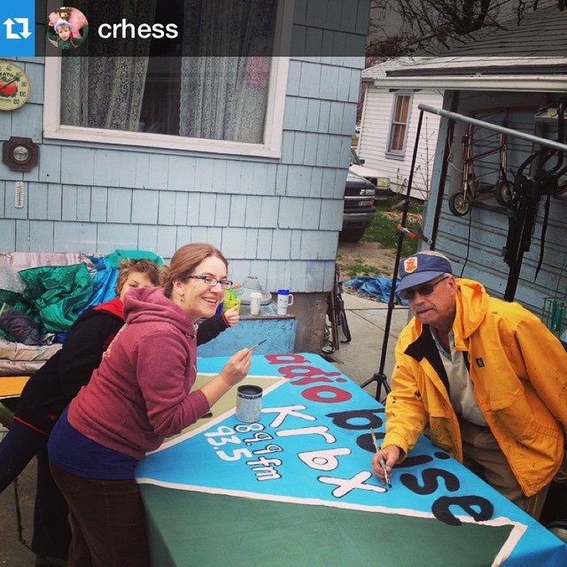 Getting ready for #treefort2015 @crhess