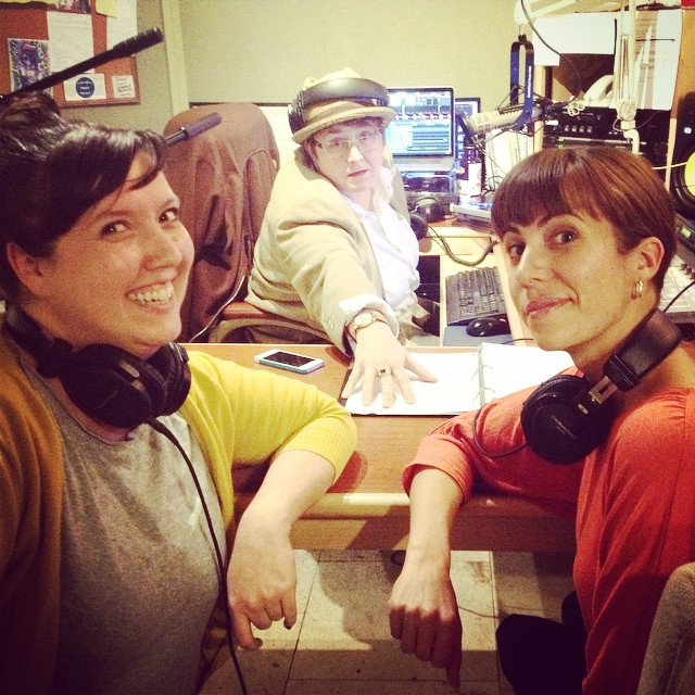 Lady Power in the studio tonight for Stardust Lounge! Helping close up Fall Radiothon! Give them a call at 1(208)258-2072 or visit http://radioboise.us and be a hero!!