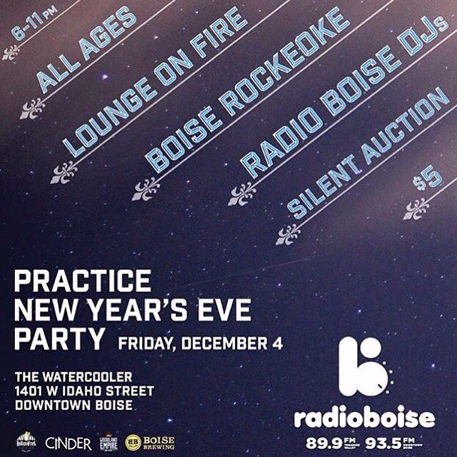 Only 4 days until Radio Boises annual Practice New Yearshellip