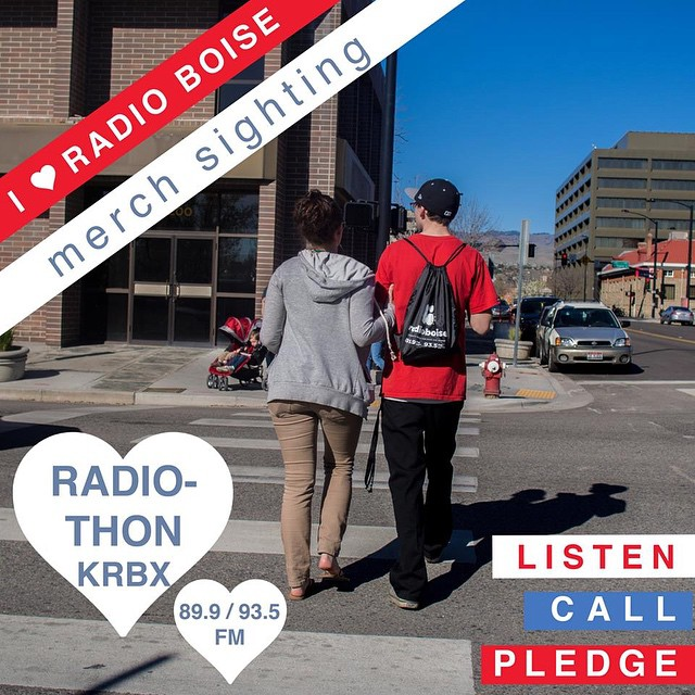 It's Spring Radiothon Eve! The fund drive kicks off Wednesday…