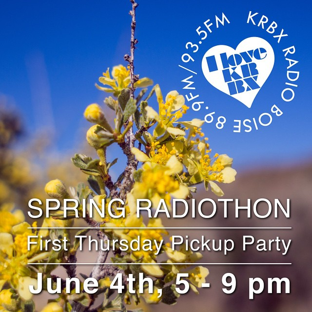 Spring Radiothon Pickup Party is one week from today! If…