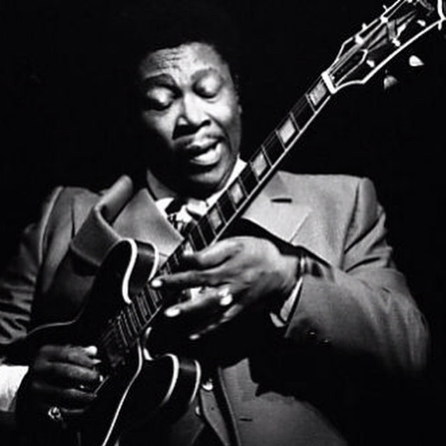 RIP BB King - Thanks for the music. We heard…