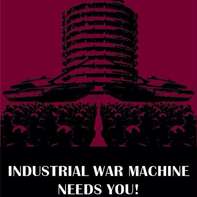 Industrial War Machine Idahos only gothindustrial FM show midnight2am ishellip