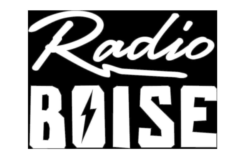 Radio Boise New Diecut Sticker, 2016