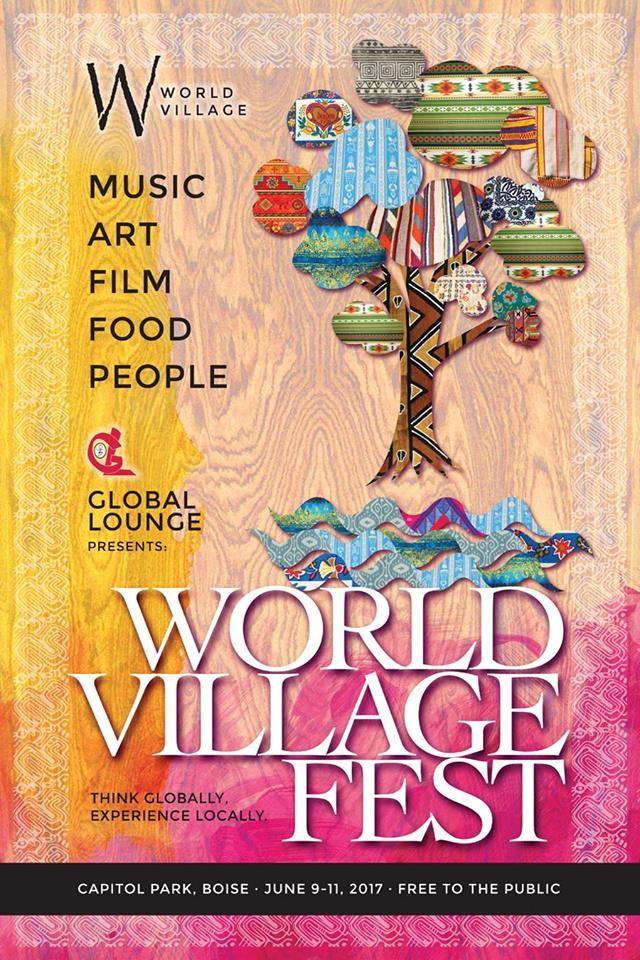 World Village Fest 2017 Poster