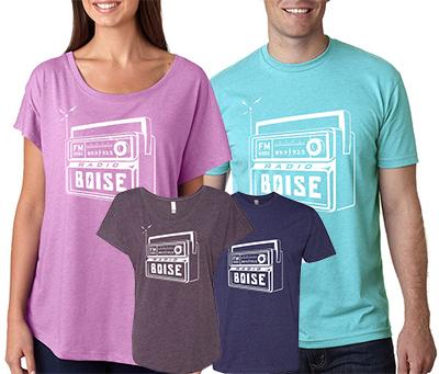 Support radio boise radio boise for Boise t shirt printing