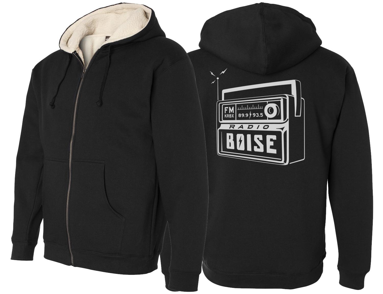 Black Radio Boise Sherpa Hoodie