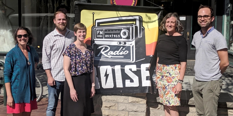 Hosts of The Big Tent, a weekly Radio Boise public affairs show