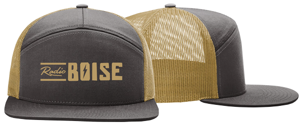 KRBX Charcoal and Gold Hat